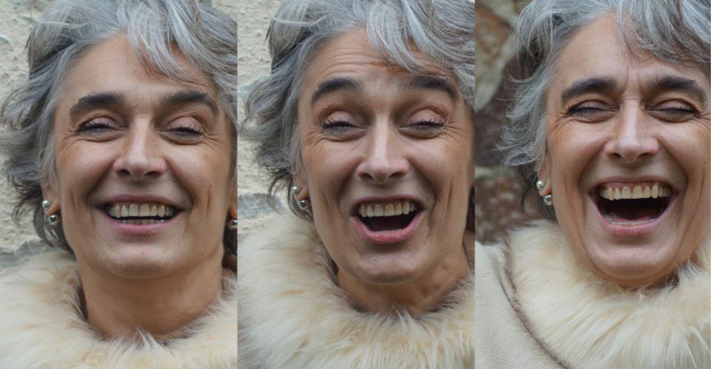 Caroline GAGNIÉ Eclat de rire en 3 temps